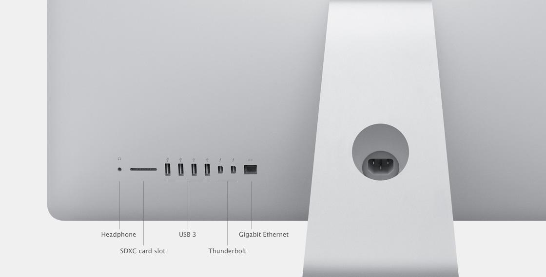 Подключение Apple iMac