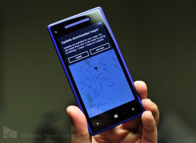 Windows Phone 8 Maps