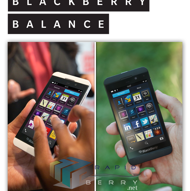 BlackBerry-Balance